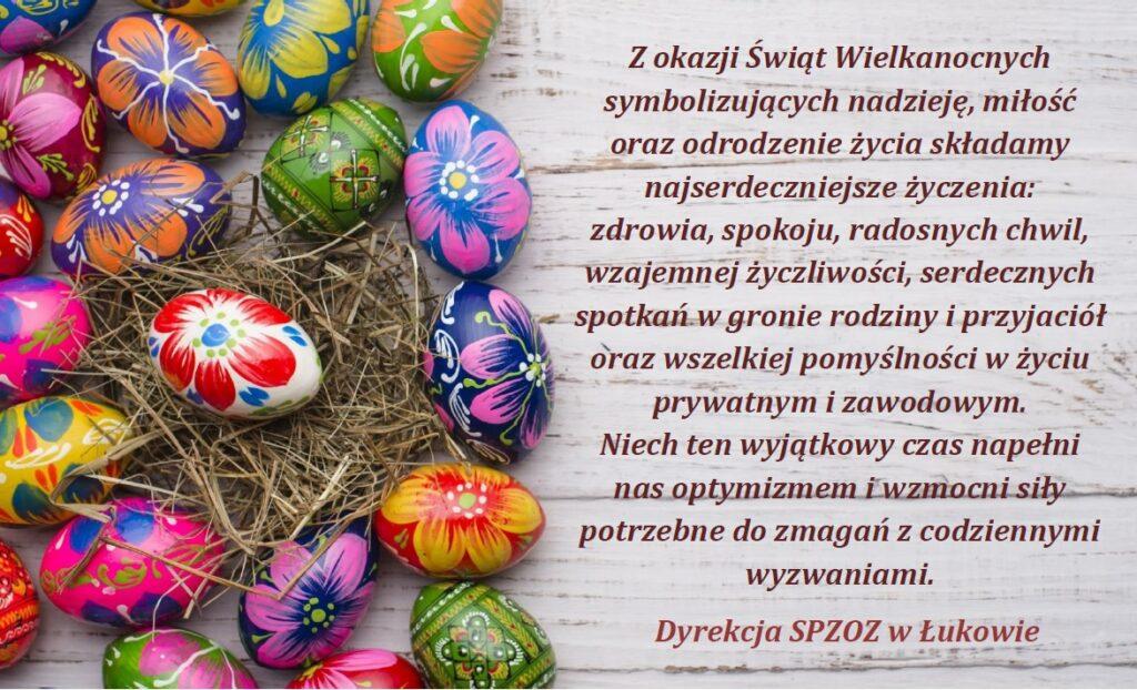 Życzenia Wielkanoce